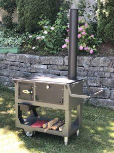 Fred der mobile Gartenherd