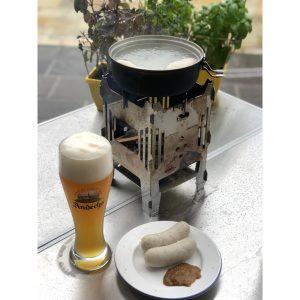 MoKo Weißwurst im Tatonka Topf