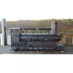 Joe's Barbeque Smoker Double Door Train