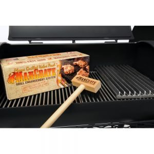 Joe's Barbeque Smoker, Mangrate grill enhancement system